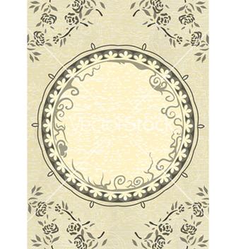 Free vintage frame vector - Kostenloses vector #243517