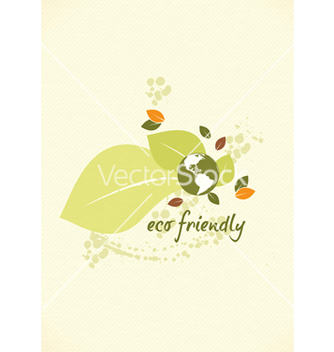 Free eco friendly design vector - Free vector #243537