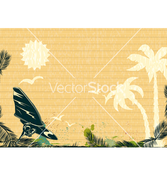 Free summer background vector - Free vector #243677