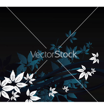 Free abstract floral background vector - Free vector #244057