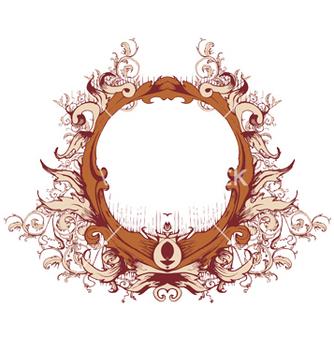 Free floral frame vector - Kostenloses vector #244267