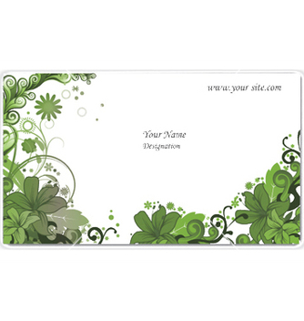 Free vintage business card vector - Free vector #244547