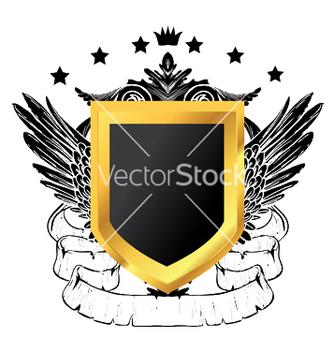 Free vintage gold emblem vector - Free vector #244567