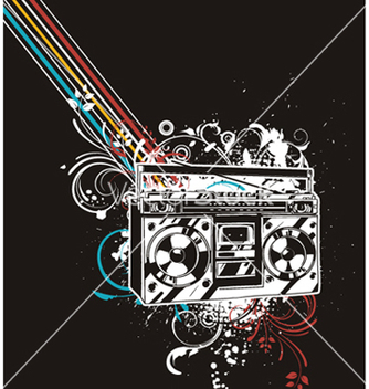 Free concert poster vector - Free vector #244687
