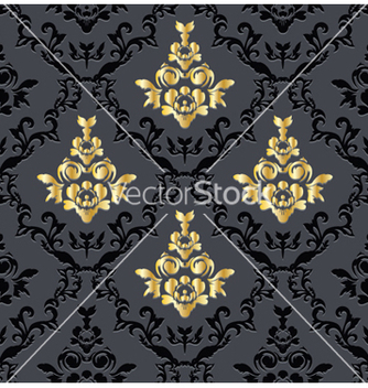 Free floral seamless pattern vector - Kostenloses vector #245037
