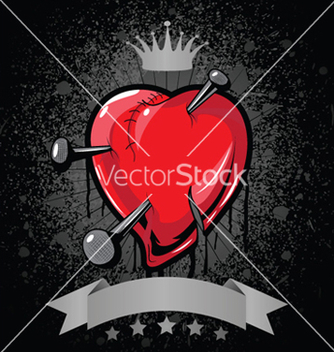 Free heart background vector - Free vector #245257
