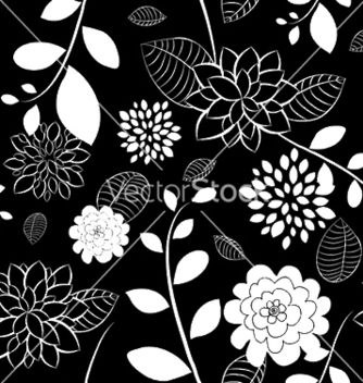Free floral seamless pattern vector - Free vector #245517