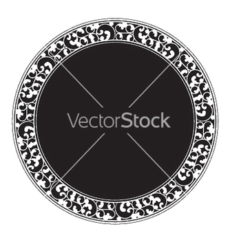 Free vintage frame vector - Free vector #245807