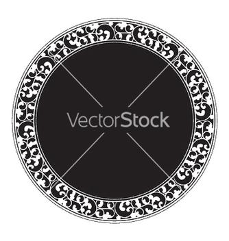 Free vintage frame vector - vector gratuit #245807