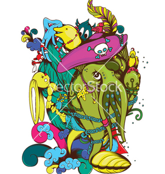 Free funny monsters vector - бесплатный vector #246057