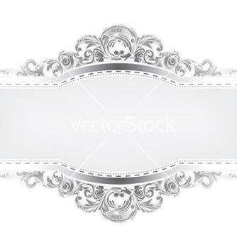 Free elegant floral frame vector - Free vector #246087