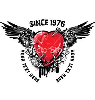 Free heart emblem vector - Free vector #246157