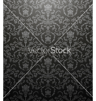 Free damask seamless pattern vector - Free vector #246577