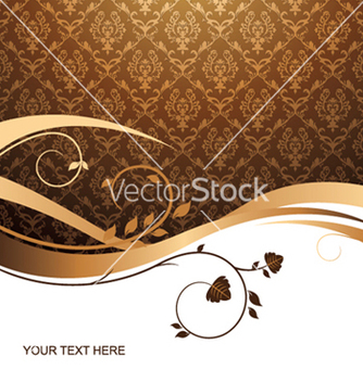 Free vintage floral background vector - Free vector #246687