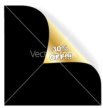 Free vintage gold corner vector - Free vector #246817