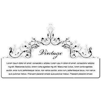 Free elegant floral frame vector - Free vector #246917