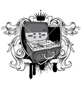 Free music emblem vector - Kostenloses vector #246927