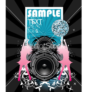 Free concert poster vector - Free vector #247077