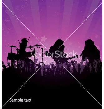 Free concert poster vector - Free vector #247257