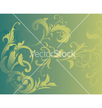 Free vintage floral background vector - Free vector #247627