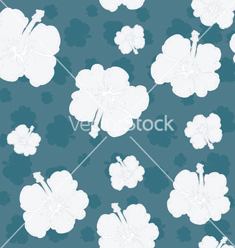 Free seamless floral pattern vector - Kostenloses vector #248007