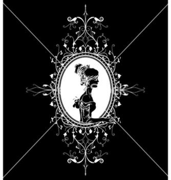 Free elegant floral frame vector - Free vector #248187