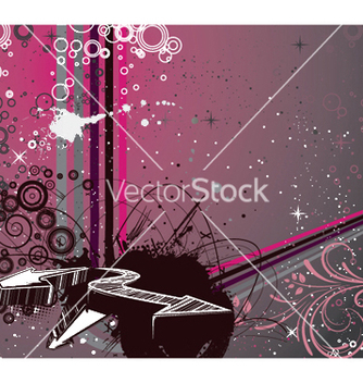 Free 3d arrows with abstract background vector - Kostenloses vector #248547