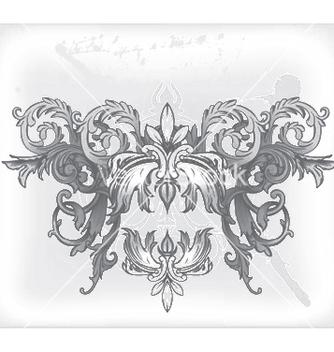 Free baroque floral vector - Free vector #248617