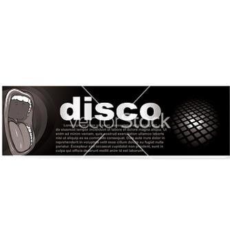 Free disco banner vector - vector #248917 gratis