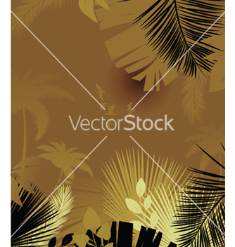 Free summer background with palm trees vector - Free vector #249087