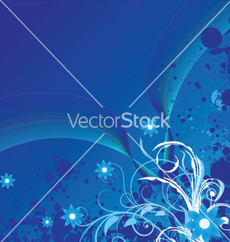 Free abstract floral background vector - Kostenloses vector #249187