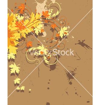 Free vintage floral background vector - Free vector #249247