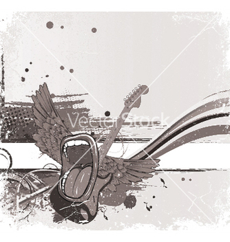 Free music background vector - vector gratuit #249717