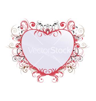 Free vintage floral frame vector - Free vector #249827
