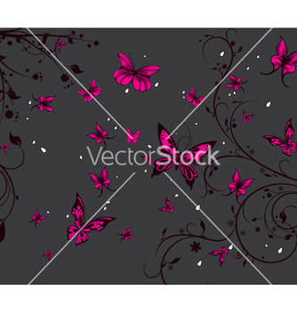 Free spring floral background vector - Kostenloses vector #249997
