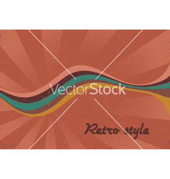 Free retro music poster vector - бесплатный vector #250457
