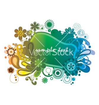 Free floral frame vector - Kostenloses vector #250547