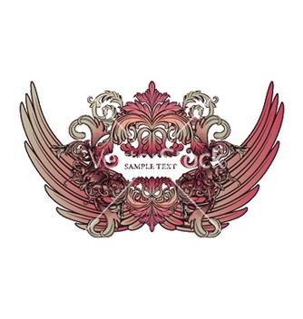 Free baroque emblem vector - Free vector #250637