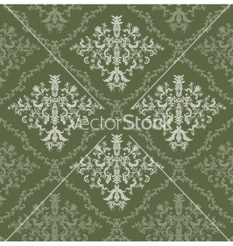 Free damask seamless pattern vector - Kostenloses vector #250767