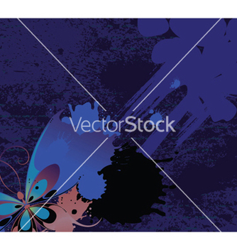Free floral with splash vector - Free vector #250957
