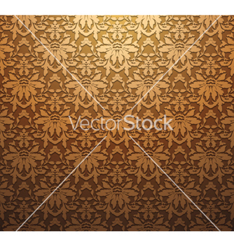 Free vintage floral seamless pattern vector - Kostenloses vector #251137