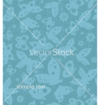 Free butterflies with grunge vector - Free vector #251557