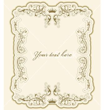 Free elegant vintage label vector - Free vector #252177