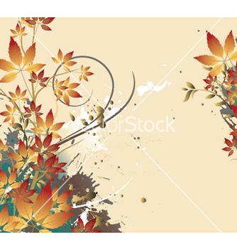 Free vintage floral vector - Kostenloses vector #252237