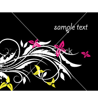 Free spring floral background vector - Free vector #252377