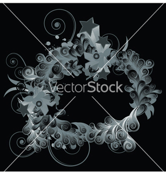 Free splash floral frame vector - бесплатный vector #252567