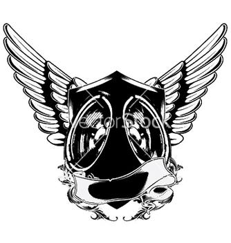 Free speaker emblem vector - Free vector #253007