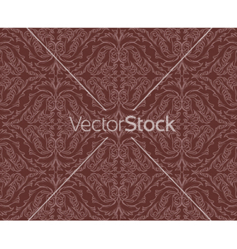 Free seamless floral background vector - Free vector #253107