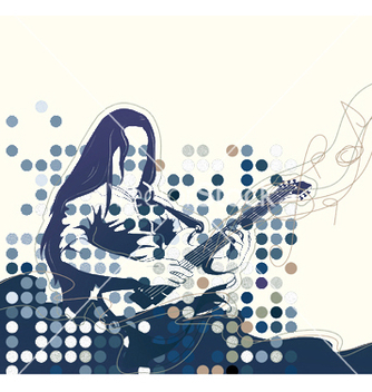 Free music poster vector - Free vector #253337