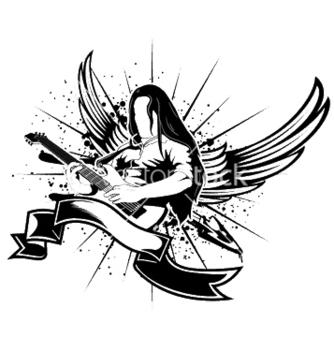 Free music emblem vector - Kostenloses vector #253637
